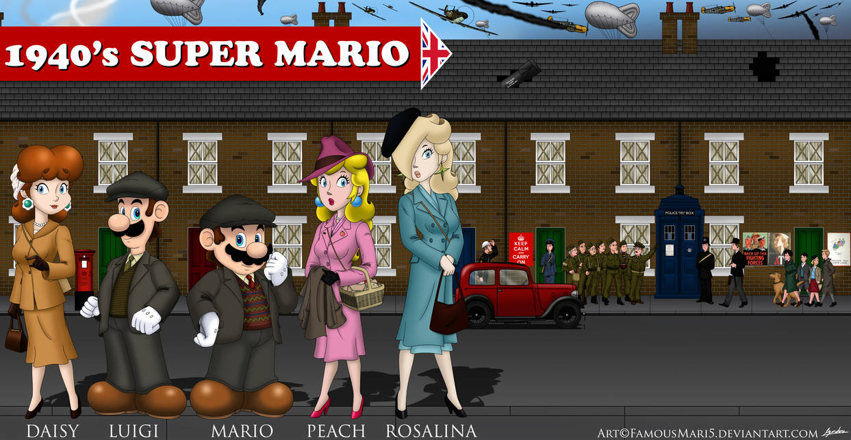 1940's Super Mario (Great Britain)
