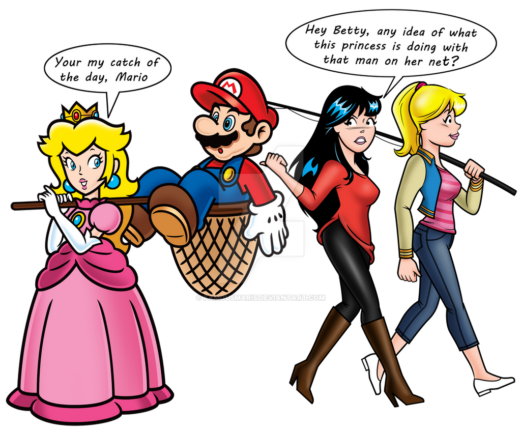 Mario Of The Day (featuring.Betty And Veronica) By