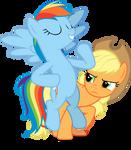 Rainbow Dash is the lead