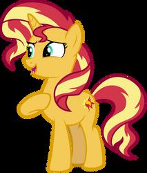 Pony Sunset Shimmer (Spring Breakdown) by FamousMari5