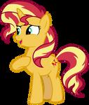 Pony Sunset Shimmer (Spring Breakdown)