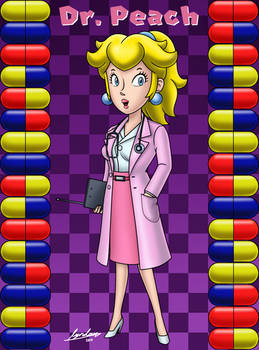 Dr. Peach (Dr. Mario World)