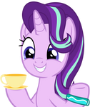 Starlight with a cup