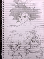 Dragon Ball Doodles #1 by CouchPotatoe616
