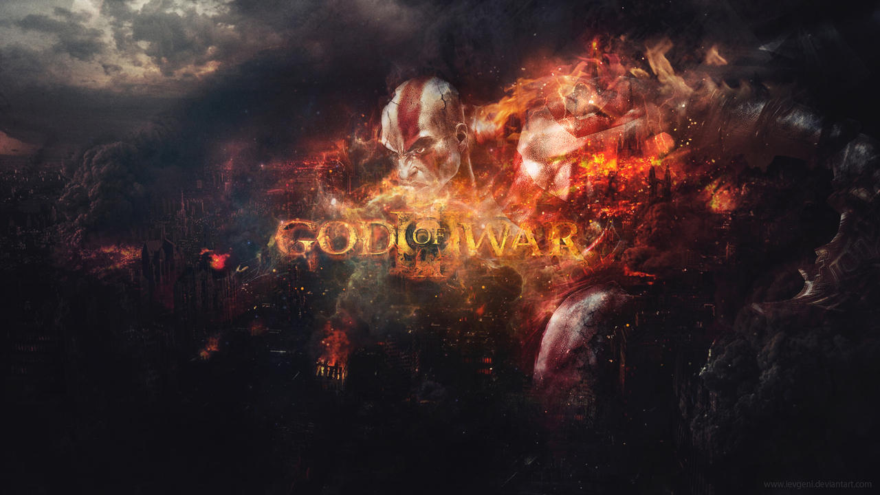 GOD OF WAR Wallpaper by iEvgeni