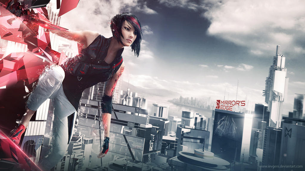 Wallpapers On Mirror-s-Edge-fans