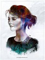 Ginger Girl by iEvgeni
