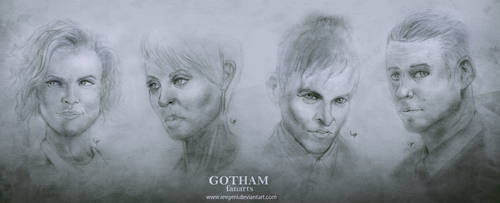 Gotham Faces by iEvgeni