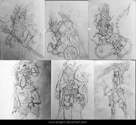 2018 Sketches by iEvgeni