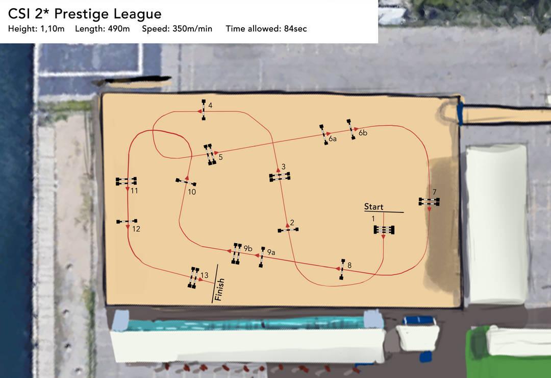 Course Map CSI 2* by Aliyska