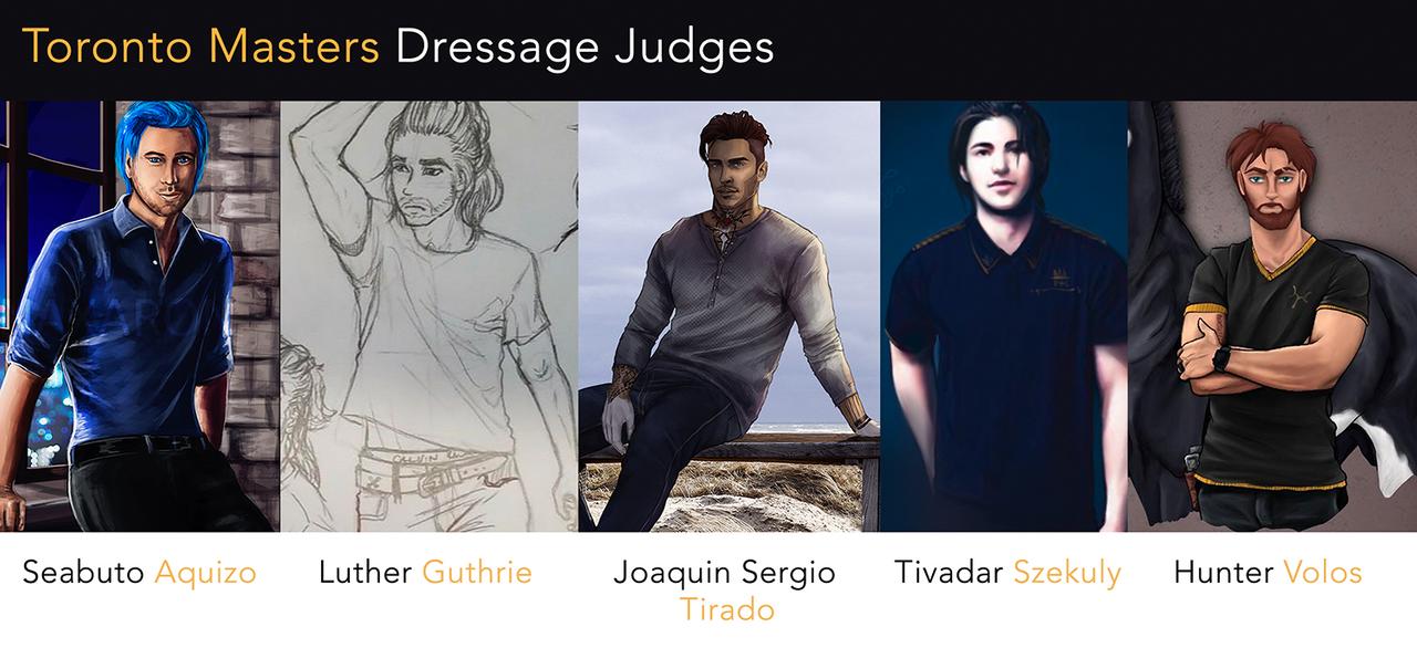 Dressage Judges by Aliyska