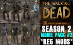 The Walking Dead Season 2 MODEL PACK 2 *RE5 MODS*