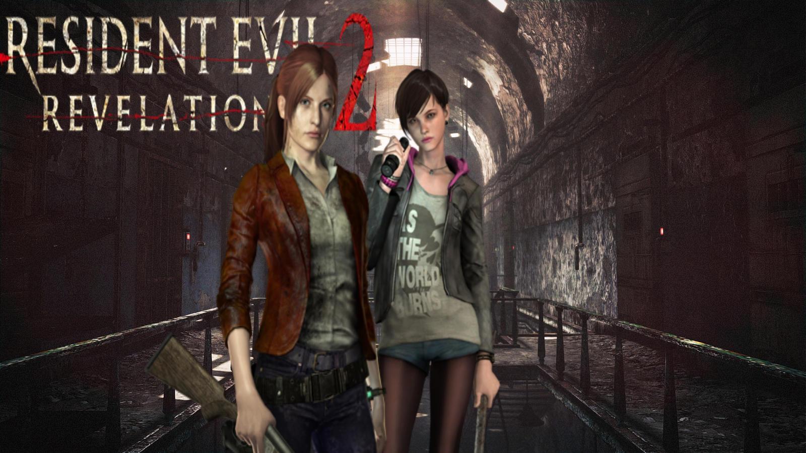 Resident Evil Revelations 2 Wallpaper 3 By Xzombiealix On Deviantart