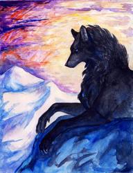 The Wolf by Avokad