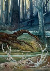 Marsh spirit by Avokad