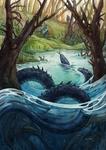 Water Snake by Avokad