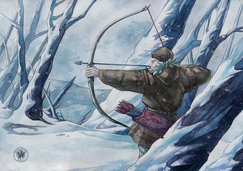 Snow archer