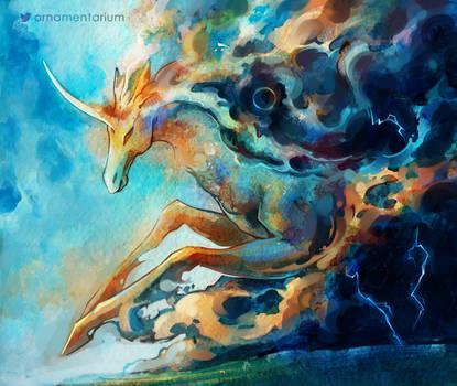 Junicorn - Clouds by Avokad