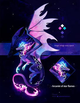 Arcanist of star flames - adopt closed