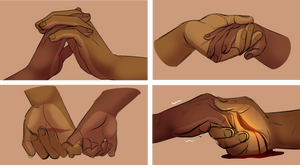 Red Beans: Hands