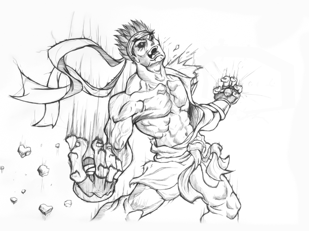 street fighter coloring pages - photo#27