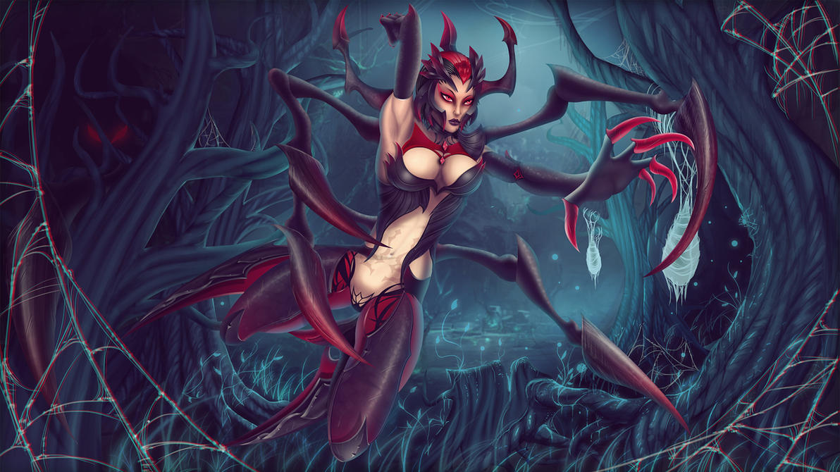 Elise The Spider Queen by BenJi2D