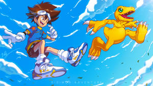 Digimon: Taichi and Agumon