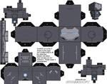 Iron Man Mark II Cubeecraft