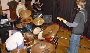 Setting up the gig by goldfish654