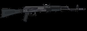 AK-74M Unloaded