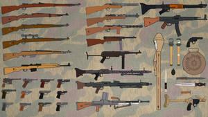 German weapons of World War 2 (Wallpaper) (16:9)