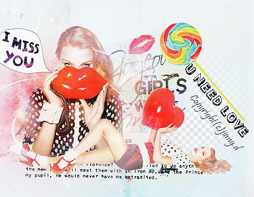 u need love by JIANG-D