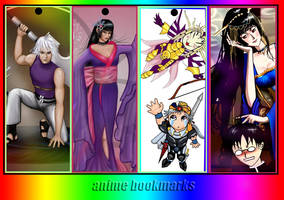 more anime bookmarks by mytiko-chan-is-back