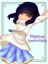Happy 8th Anniversary to IbisPaint by katzanimation