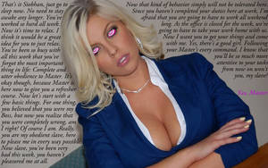 Hypnotized Boss by oneeyedstranger
