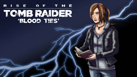 rise of Tombraider blood by Cleoam