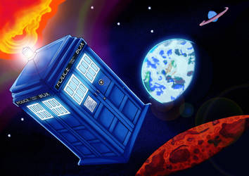 Doctor Who by Cleoam
