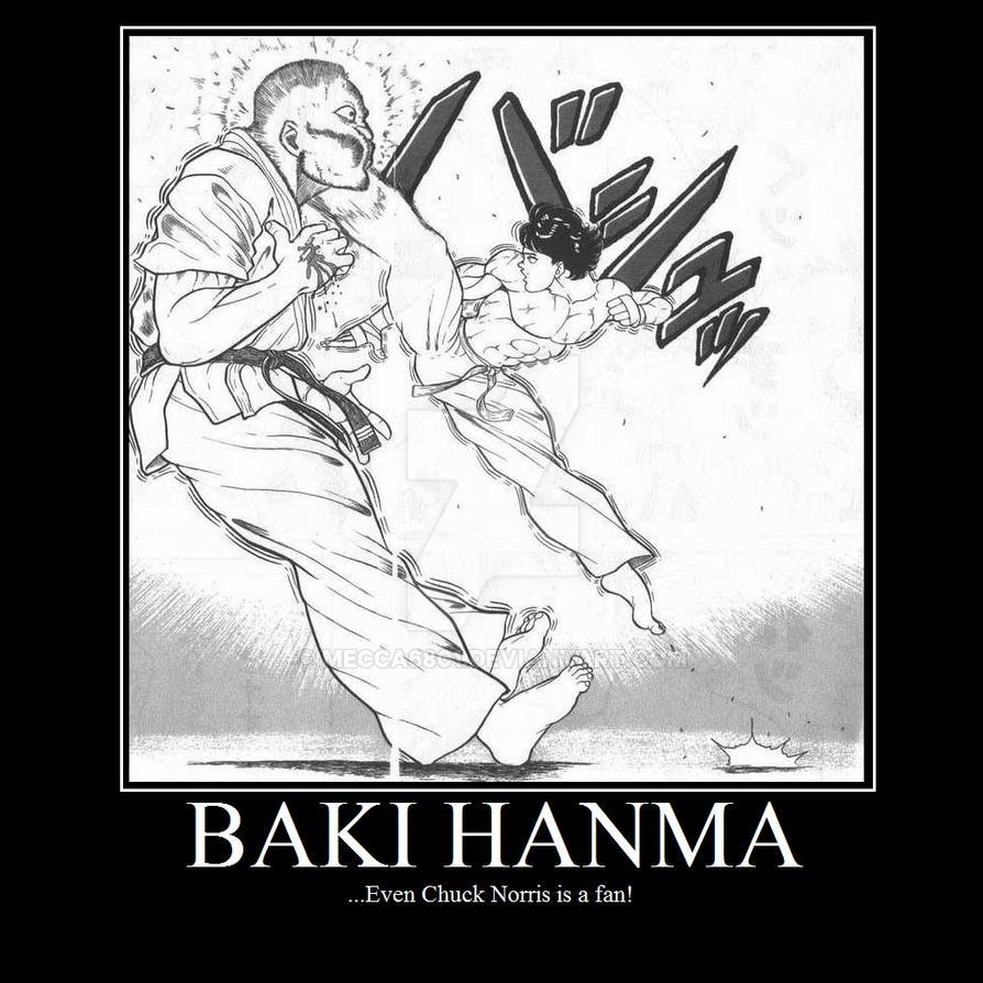 Baki Hanma by mecca6801