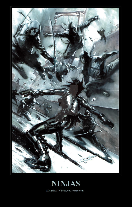 Ninja's by mecca6801