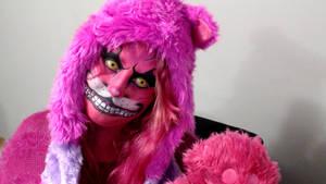 Cheshire cat cosplay