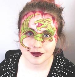 Dragon Facepaint