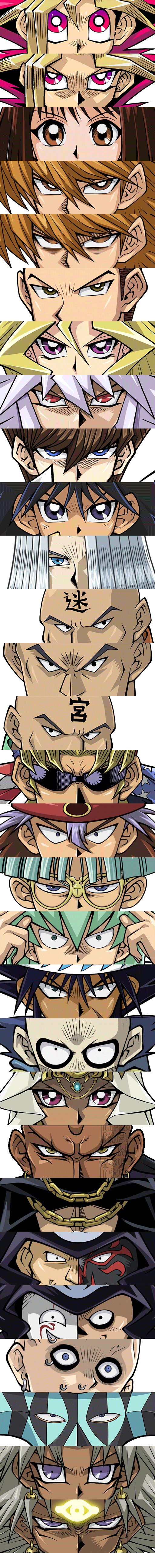 Yugioh! Duel Monster - All Characters [Duel Links] by