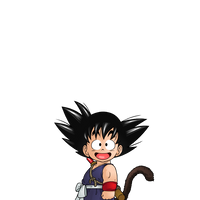 Kid Goku blue suit render 6 [Dokkan Battle] by ... |Goku Blue Suit