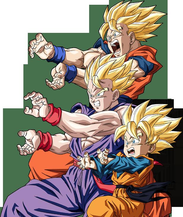 Goku Gohan Goten Wallpaper Gambarku