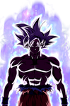 Goku - Mastered Ultra instinct render 2