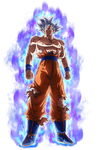 Goku - Mastered Ultra instinct render