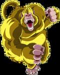 Golden great ape render [Dokkan Battle]