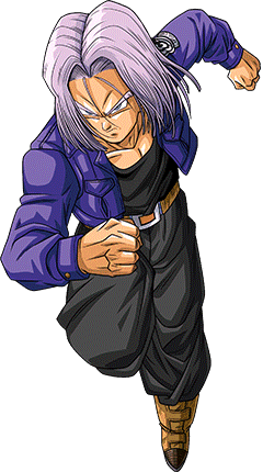 Future Trunks - The legendary super saiyan render by ...