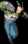 Android 17 - Tournament of Power Saga render 2