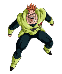 Android 16 render [Website] by maxiuchiha22